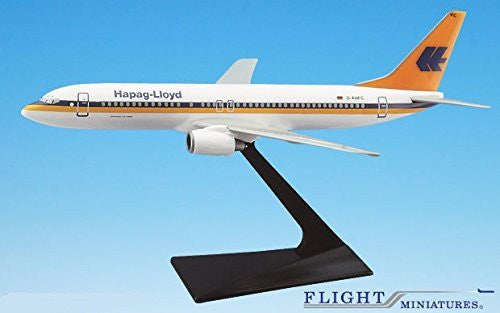 Hapag Lloyd (86-01) Boeing 737-800 Airplane Miniature Model Plastic Snap Fit 1:200 Part# ABO-73780H-004