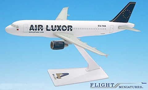 Air Luxor A320-200 Airplane Miniature Model Plastic Snap-Fit 1:200 Part# AAB-32020H-047