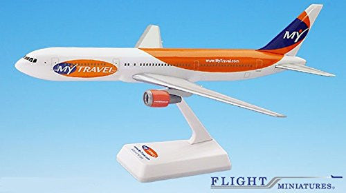 MyTravel 767-300 Airplane Miniature Model Plastic Snap Fit 1:200 Part# ABO-76730H-039