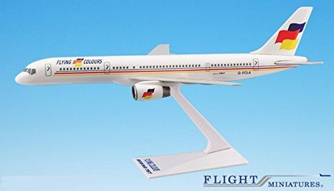 Flying Colours 757-200 Airplane Miniature Model Snap Fit Kit 1:200 Part# ABO-75720H-035
