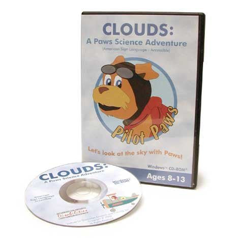 Clouds: A Paws Science Adventure/ASL