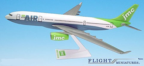 JMC Airbus A330-200Airplane Miniature Model Snap Fit Kit 1:200 Part# AAB-33020H-008