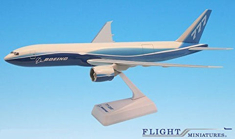 Boeing Demo Freighter 777-200F Airplane Miniature Model Plastic Snap Fit 1:200 Part# ABO-7772LH-002
