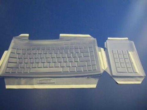 Viziflex's formfitting keyboard cover for Kensington Slimblade Media K72279US