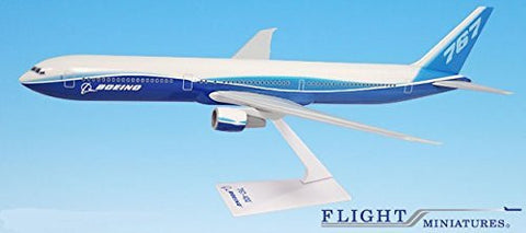 Boeing Demo (04-Cur) 767-400 Airplane Miniature Model Plastic Snap Fit 1:200 Part# ABO-76740H-005