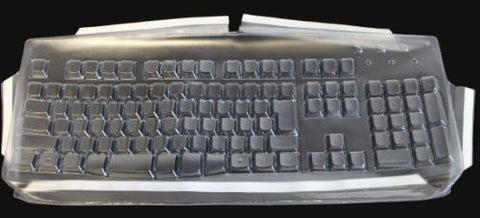 Keyboard Cover for Korean Solidtek SimplyPlugo Keyboards - Protect From Dirt, Dust, Liquids and Contaminants (Keyboard Not Included).