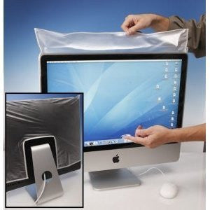 "Anti-Microbial Monitor Covers 19.5"" W x 11.5"" H"