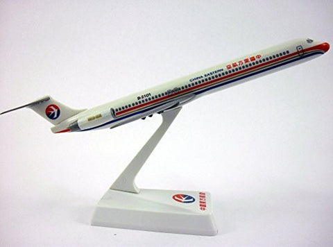 China Eastern MD-82 Airplane Miniature Model Snap Fit 1:200 Part# AMD-08000H-018