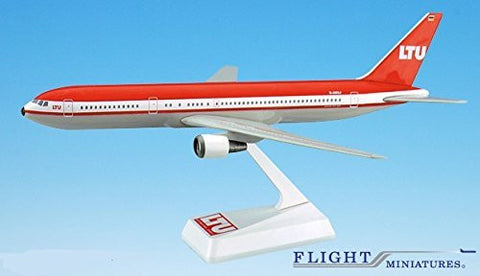 LTU German Leisure Airline 767-300 Airplane Miniature Model Plastic Snap-Fit 1:200 Part# ABO-76730H-027