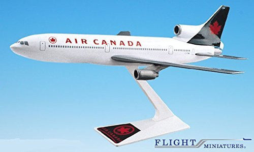 Air Canada (94-04) L-1011 Airplane Miniature Model Snap Fit 1:250 Part#ALK-10110I-014