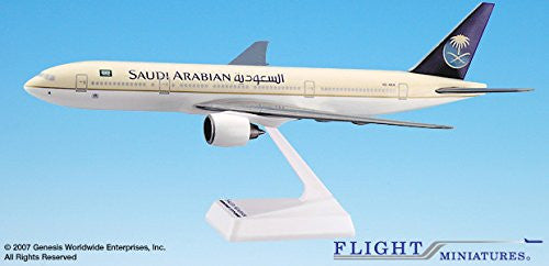 Boeing 777-200 Saudi Arabian 1/200 Scale Model #ABO-77720H-015