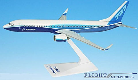 Boeing Demo (04-Cur) 737-900w Airplane Miniature Model Plastic Snap Fit 1:200 Part# ABO-73790H-005