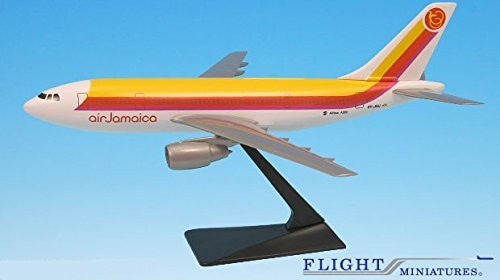 Air Jamaica (69-95) A300B2/B4 Airplane Miniature Model Plastic Snap-Fit 1:200 Part# AAB-30000H-001