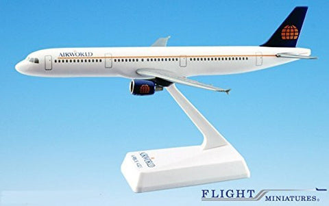 Airworld Airbus A321-200 Airplane Miniature Model Snap Fit Kit 1:200 Part# AAB-32100H-006