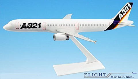 Airbus Demo (87-05) A321-200 Airplane Miniature Model Plastic Snap Fit 1:200 Part# AAB-32100H-001