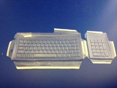Viziflex Keyboard Cover for KENSINGTON SLIMBLADE SET 253G90//254G17 Keyboards
