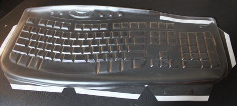 Keyboard Cover for Microsoft Comfort Curve 2000,Keeps Out Dirt Dust Liquids and Contaminants - Keyboard not Included - Part#879E113