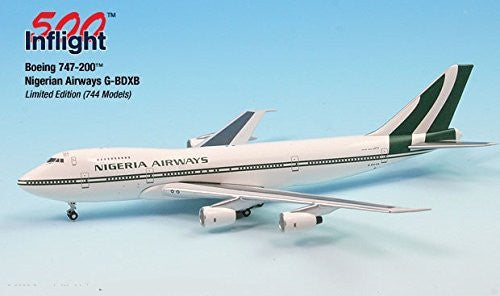 Nigerian Airways G-BDXB 747-200 Airplane Miniature Model Metal Die-Cast 1:500 Part# A015-IF5742008