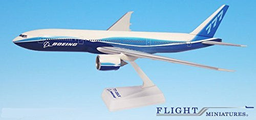 Boeing Demo (04-Cur) 777-200LR Airplane Miniature Model Plastic Snap Fit 1:200 Part# ABO-7772LH-001