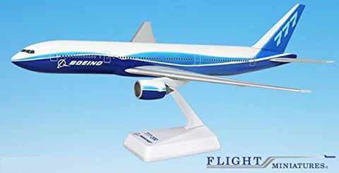 Boeing Demo (04-Cur) 777-200 Airplane Miniature Model Plastic Snap Fit 1:200 Part# ABO-77720H-029