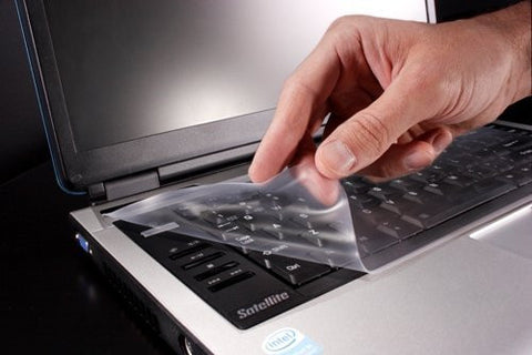 "Universal Laptop Notebook Cover Fits Laptops with Screens up to 19"" - Protection from Dust, Dirt, Liquids, Spills..."