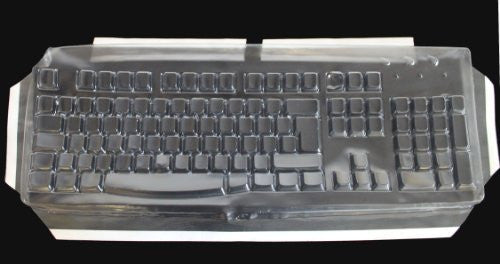 Keyboard Cover for Spanish, French, Italian, Uk, Swedish, Portugese, Greek, and German Simply Plugo Keyboards