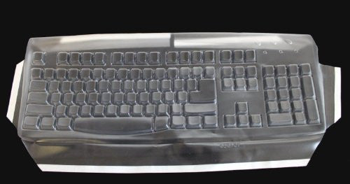 Biosafe Anti Microbial Keyboard Cover for Cherry RS 6000 Keyboard, Keeps Out Dirt Dust Liquids and Contaminants - Keyboard not Included - Part#123D104