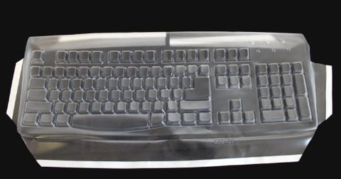 Biosafe Anti Microbial Viziflex Keyboard Cover for Logitech models K120, MK120, Keyboard Not Included