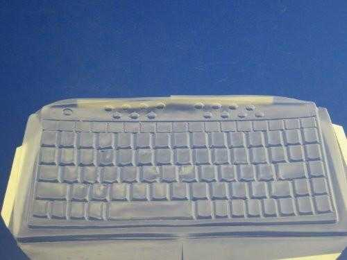 Viziflex's formfitting keyboard cover for Gyration GC1105 GC15K 833E104