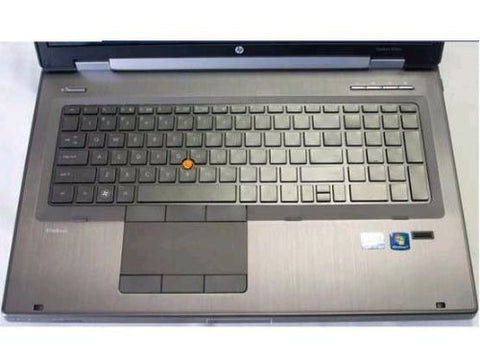 HP 8760W CUSTOM LAPTOP COVER. KEEPS LAPTOP KEYBOARDS FREE FROM LIQUID SPILLS, AI