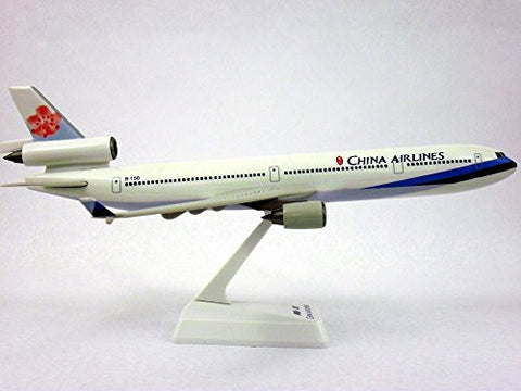 China Airlines MD-11 Airplane Miniature Model Plastic Snap-Fit 1:200 Part# AMD-01100H-023