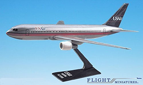 USAir (89-97) 767-200 Airplane Miniature Model Plastic Snap-Fit 1:200 Part#ABO-76720H-003