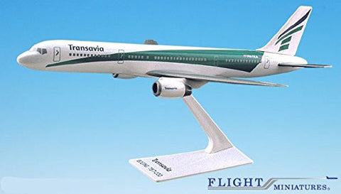 Transavia Airlines 757-200 Airplane Miniature Model Plastic Snap Fit 1:200 Part# ABO-75720H-028
