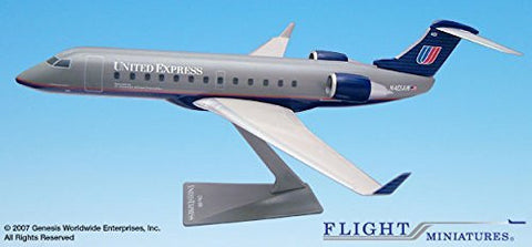 Flight Miniatures Air Wisconsin United Express Bombardier CRJ200 1:100 Scale
