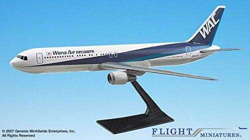 World Air Network Boeing 767-300 Airplane Miniature Model Plastic Snap Fit 1:200 Part# ABO-76730H-011