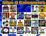 SIGN-O: An (ASL) American Sign Language BINGO Game CD-ROM Software (Windows)