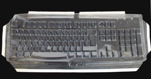 Biosafe Anti Microbial Keyboard Cover for Dell SK8175 Keyboard, Keeps Out Dirt Dust Liquids and Contaminants - Keyboard not Included - Part# 230G104
