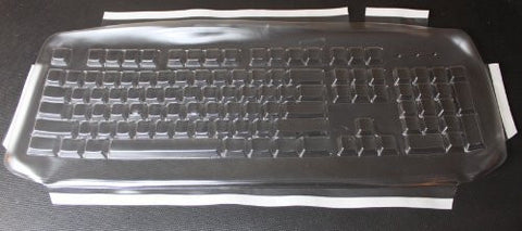 Keyboard Cover for Microsoft Wired 200 Keyboard,Keeps Out Dirt Dust Liquids and Contaminants - Keyboard not Included - Part#437G108