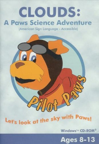 ASL American Sign Language - Clouds: Paw Signs Science Adventures for Windows Only