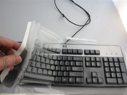 Musical Instrument Viziflex's HP/COMPAQ KEYBOARD COVER FITTING MODELS KB0316, KU0316, SK2875, SK2885, SML4000, 9109, KB08161, SK2880, KB9109, KG0133. Music Tool