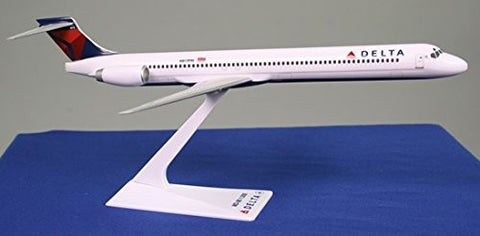 Delta (MD-90) Airplane Miniature Model Plastic Snap Fit 1:200 Part#AMD-09000H-007