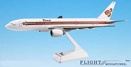 Thai Airline (77-05) 777-200 Airplane Miniature Model Plastic Snap Fit 1:200 Part# ABO-77720H-008