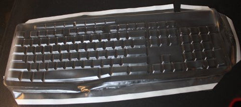 Keyboard Cover for Logitech Media K200, Keeps Out Dirt Dust Liquids and Contaminants - Keyboard not Included - Part#621G112