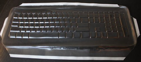Keyboard Cover for Microsoft 800 & 1455 Keyboard,Keeps Out Dirt Dust Liquids and Contaminants - Keyboard not Included - Part#624G1108