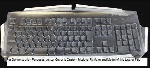 Custom Made Keyboard Cover for Datacal Arabic Keyboard - 523G104 Keyboard Not Included