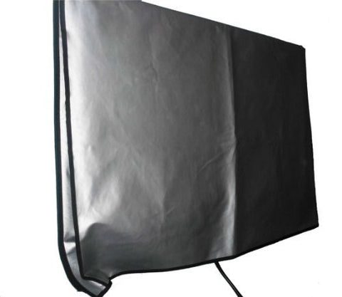 "Large Flat Screen TV's Vinyl Padded Dust Covers Ideal for Outdoor Locations Such as Restaurants, Hotels, Marinas or Poolside Locations (50"" Cover - 47.5"" x 4"" x 28.5"")"