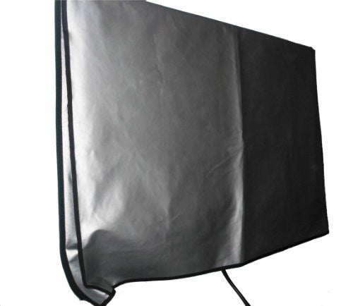 Large Flat Screen TV Vinyl Padded Dust Covers Ideal for Outdoor Locations