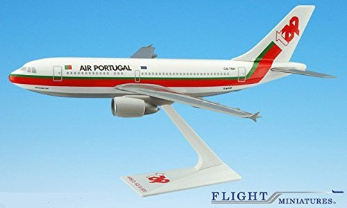 TAP Air Portugal Airbus A310-300 Airplane Miniature Model Plastic Snap Fit 1:200 Part# AAB-31020H-012