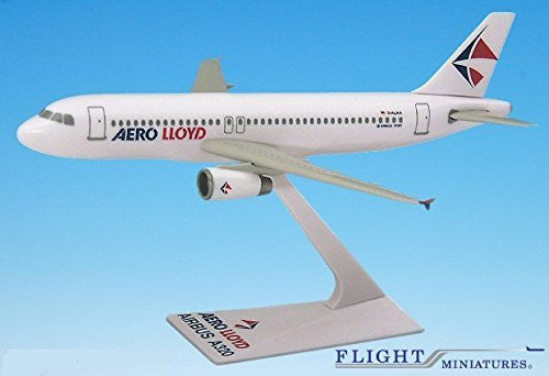Aerolloyd (96-03) A320-200 Airplane Miniature Model Plastic Snap-Fit 1:200 Part#AAB-32020H-046
