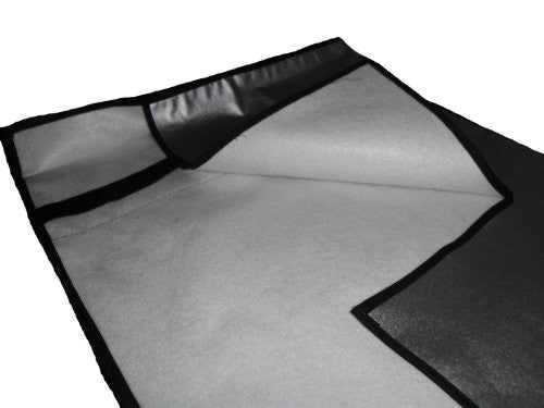 "Large Flat Screen Tv's 37"" Marine Grade Black Nylon Dust Covers Ideal for Outdoor Locations."